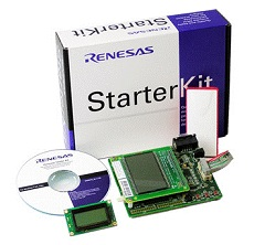 Renesas Starter Kit for R8C/2D R0K5212D8S001BE